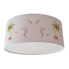 Plafondlamp flamingo's