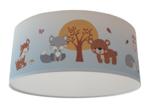 plafondlamp bosdieren thema baby en kindekamer decoratie
