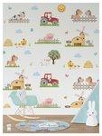 behang boerderijdieren baby en kinderkamer