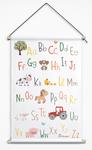 boerderijdieren abc poster
