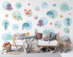 onderwaterwereld behang baby en kinderkamerdecoratie