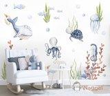 onderwaterwereld behang baby en kinderkamer