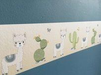 Stickerrand alpaca