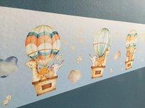Stickerrand luchtballonnen