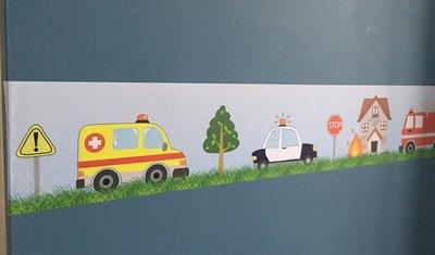 Stickerrand 112 voertuigen