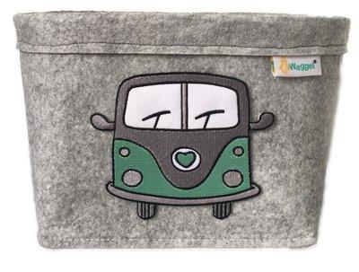 Luiermand busje mint