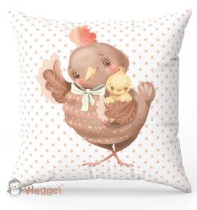 Kip sierkussen baby en kinderkamer