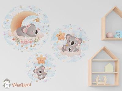 Koala muursticker babykamer