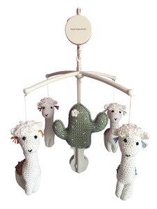 Muziekmobiel alpaca's